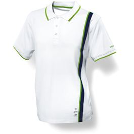 Festool M, Polo blanco para caballero - ZOOM_FAN_POLOWEISSHERR_498462_P_01A